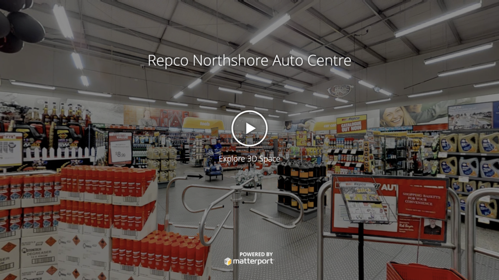 Repco Northshore Auto Centre RealSCAN tour
